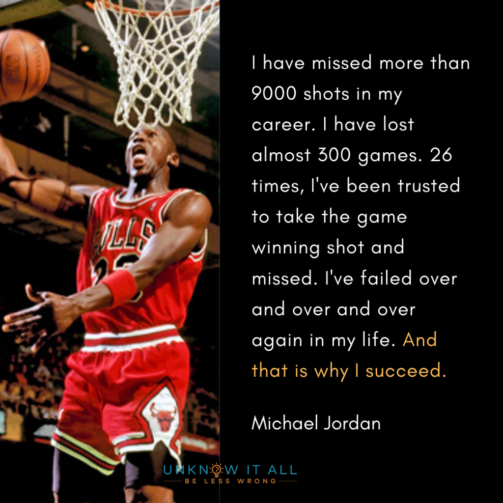 Growth Mindset Quote by Michael Jordan